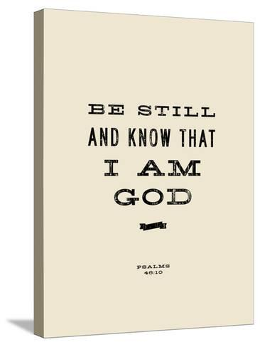 Be Still-Michael Jon Watt-Stretched Canvas Print
