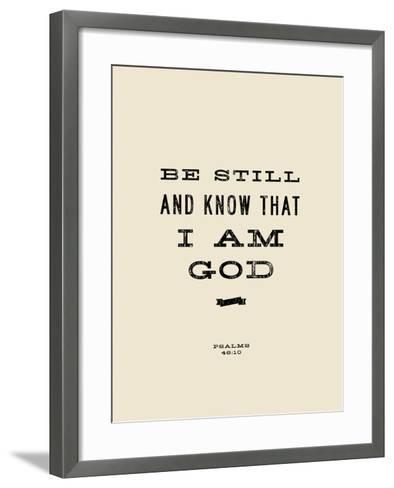 Be Still-Michael Jon Watt-Framed Art Print