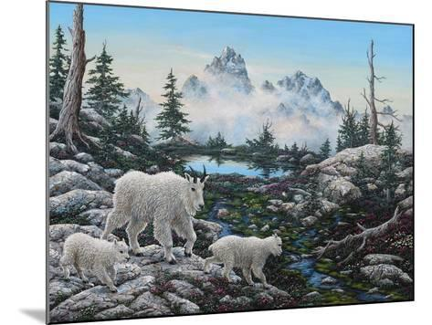 Alpine Country-Jeff Tift-Mounted Giclee Print