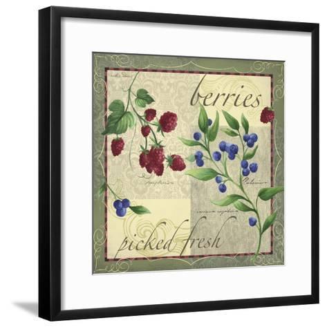 Berry Patch-Fiona Stokes-Gilbert-Framed Art Print