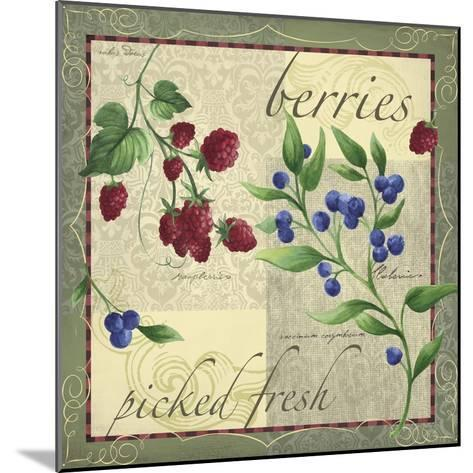 Berry Patch-Fiona Stokes-Gilbert-Mounted Giclee Print