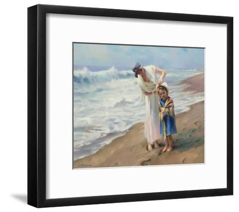 Beach side Diversions-Steve Henderson-Framed Art Print