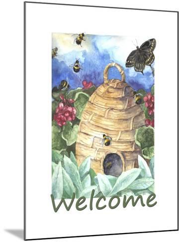 Beehive Welcome-Melinda Hipsher-Mounted Giclee Print