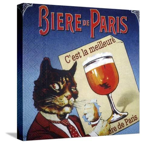 Biere de Paris--Stretched Canvas Print