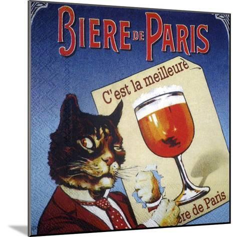 Biere de Paris--Mounted Giclee Print