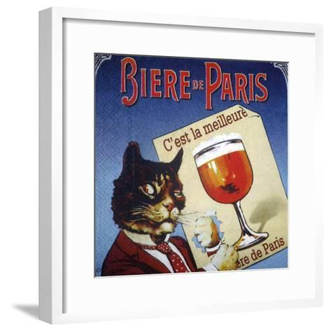 Biere de Paris--Framed Art Print