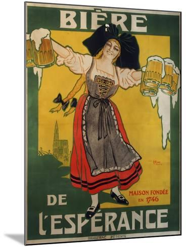 Biere Esperance--Mounted Giclee Print