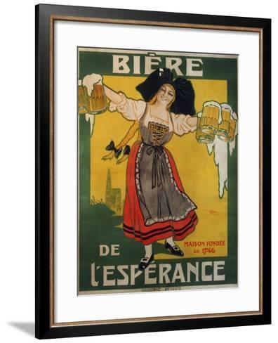 Biere Esperance--Framed Art Print