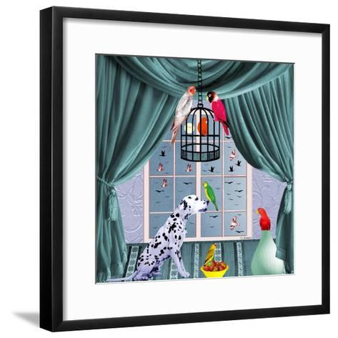 Bird Dogs VIII-David Sheskin-Framed Art Print