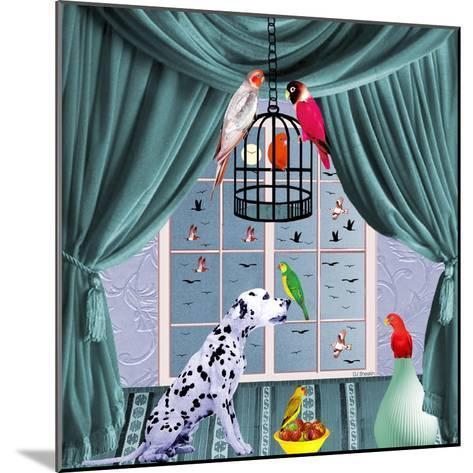 Bird Dogs VIII-David Sheskin-Mounted Giclee Print