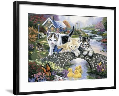 A Purrfect Day-Jenny Newland-Framed Art Print