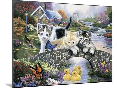 A Purrfect Day-Jenny Newland-Mounted Giclee Print
