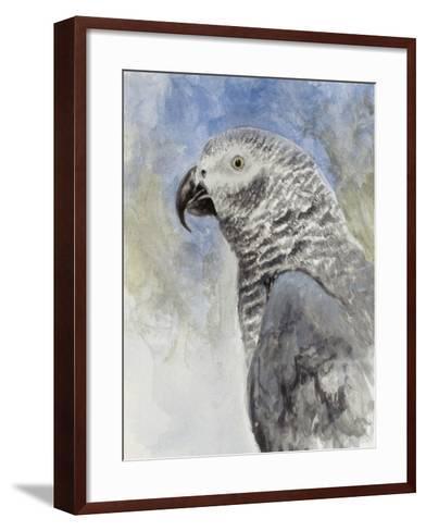 Bird - Head Study-Rusty Frentner-Framed Art Print