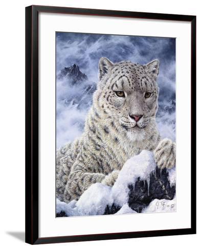 Cat-Jeff Tift-Framed Art Print