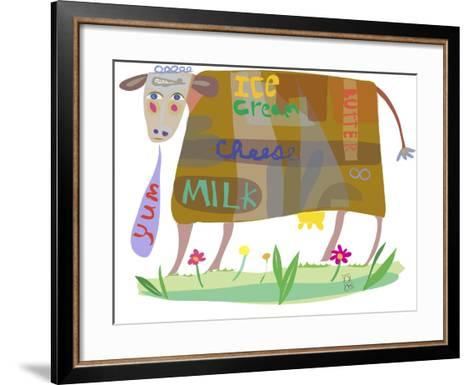 Cow-Nathaniel Mather-Framed Art Print