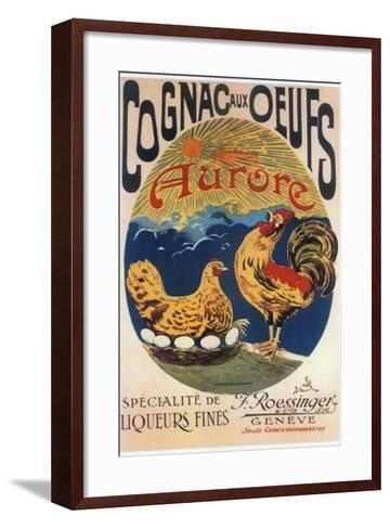 Cognac Oeufs--Framed Art Print