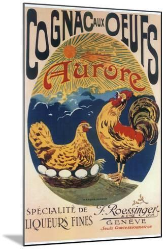 Cognac Oeufs--Mounted Giclee Print