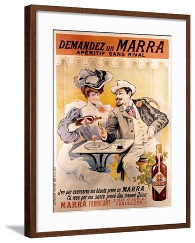 Demandez Marra--Framed Art Print