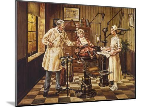 Dentist Office-Lee Dubin-Mounted Giclee Print