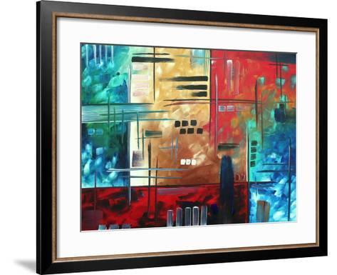 Color Rush-Megan Aroon Duncanson-Framed Art Print