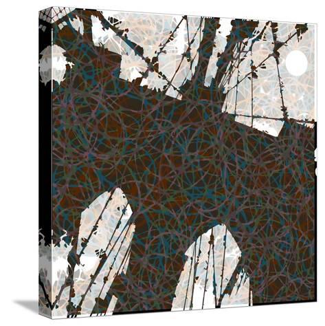 Brooklyn Bridge-Teofilo Olivieri-Stretched Canvas Print