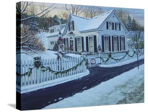 Christmas, Woodstock Vt-Bruce Dumas-Stretched Canvas Print