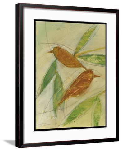 Brown Birds at Rest-Tim Nyberg-Framed Art Print