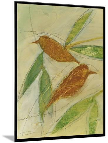 Brown Birds at Rest-Tim Nyberg-Mounted Giclee Print