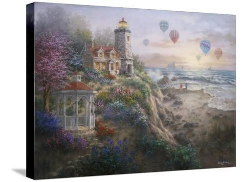 Charming Tranquility I-Nicky Boehme-Stretched Canvas Print