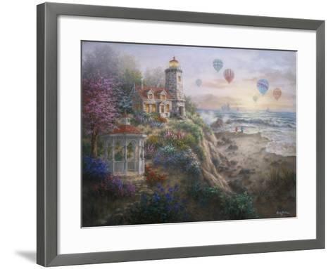 Charming Tranquility I-Nicky Boehme-Framed Art Print