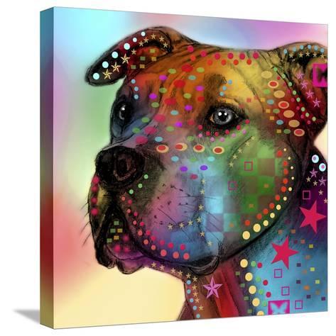 Dog 2-Mark Ashkenazi-Stretched Canvas Print