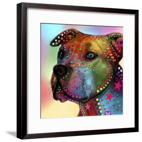 Dog 2-Mark Ashkenazi-Framed Art Print