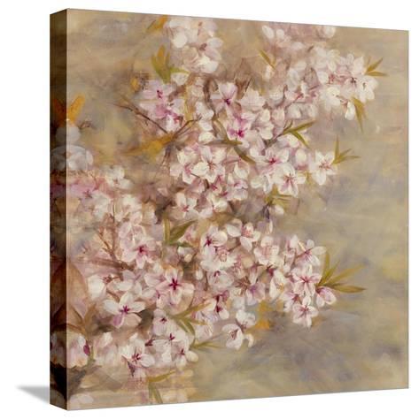 Cherry Blossom II-li bo-Stretched Canvas Print