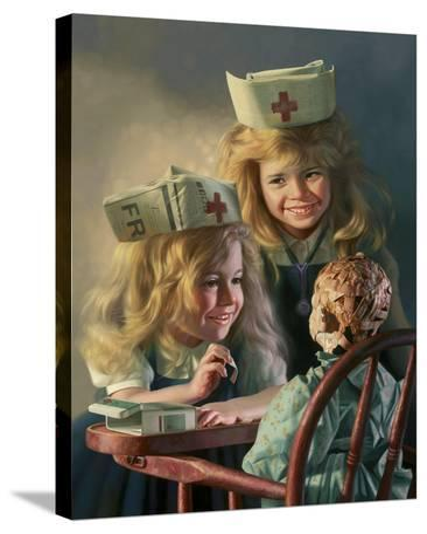 Doll Hospital-Bob Byerley-Stretched Canvas Print