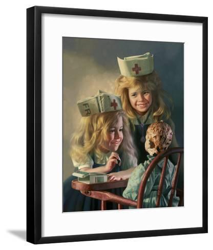 Doll Hospital-Bob Byerley-Framed Art Print