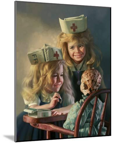 Doll Hospital-Bob Byerley-Mounted Giclee Print