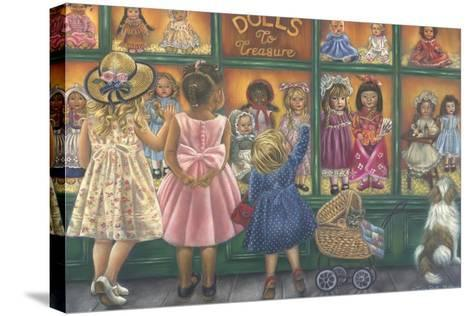 Dolls to Treasure-Tricia Reilly-Matthews-Stretched Canvas Print