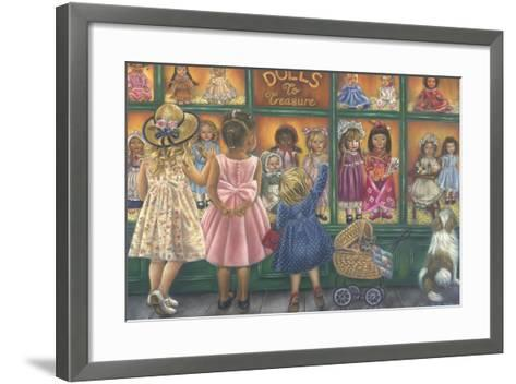 Dolls to Treasure-Tricia Reilly-Matthews-Framed Art Print