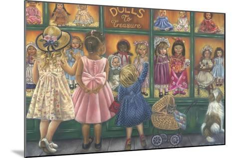 Dolls to Treasure-Tricia Reilly-Matthews-Mounted Giclee Print