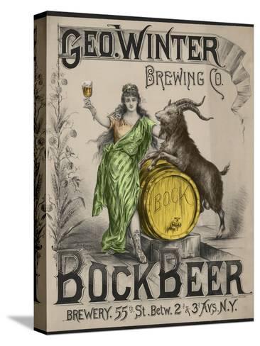 Bockbeer Green--Stretched Canvas Print