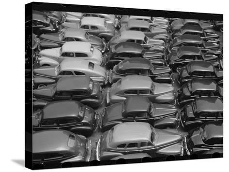Chicago Parking Lot--Stretched Canvas Print