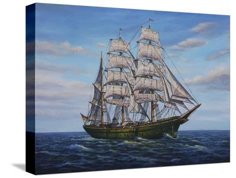 Clipper Ship-Bruce Dumas-Stretched Canvas Print