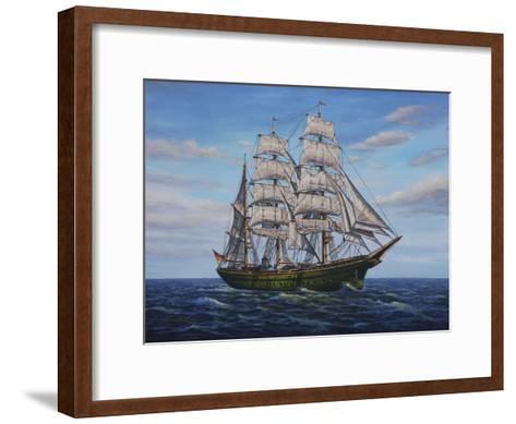 Clipper Ship-Bruce Dumas-Framed Art Print