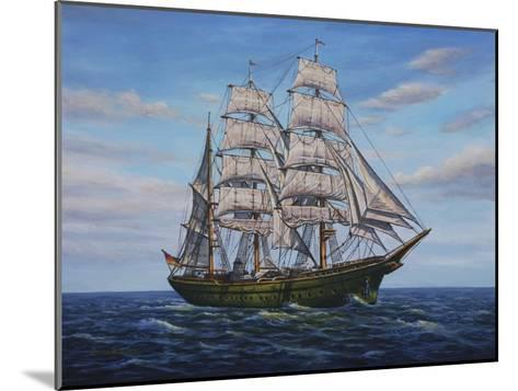 Clipper Ship-Bruce Dumas-Mounted Giclee Print