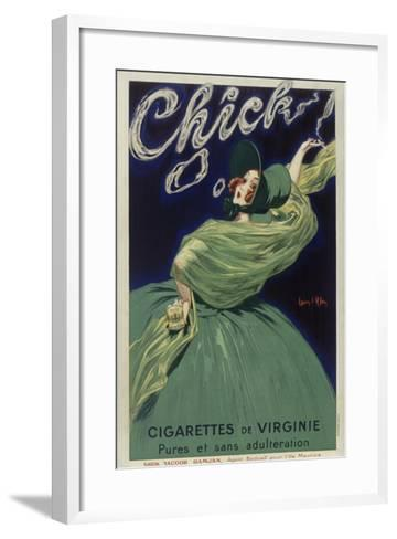 Chick Cigarettes--Framed Art Print
