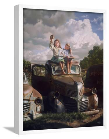 Clouds Through a Sandwich-Bob Byerley-Framed Art Print
