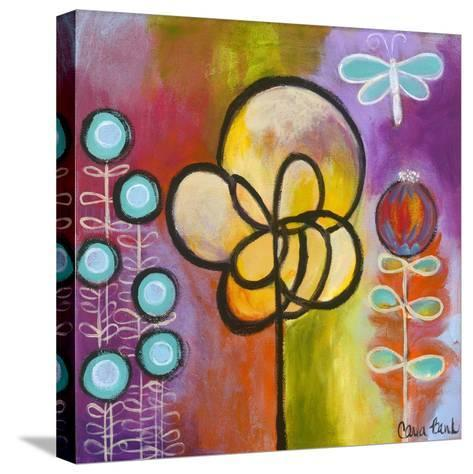 Dragon Fly-Carla Bank-Stretched Canvas Print