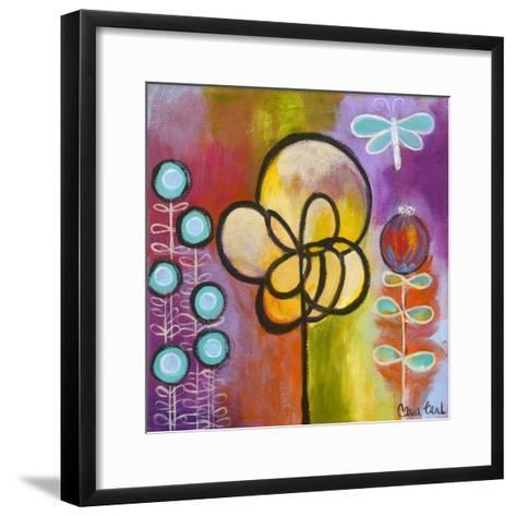Dragon Fly-Carla Bank-Framed Art Print