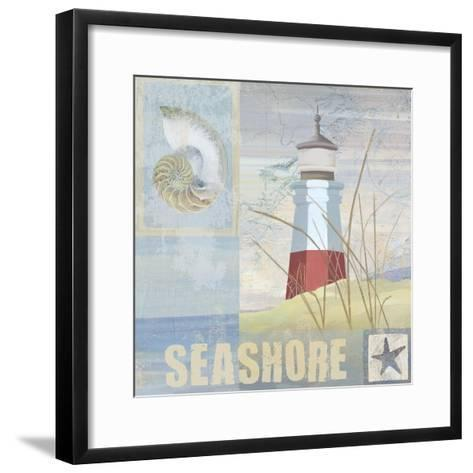 Coastal Beacon II--Framed Art Print