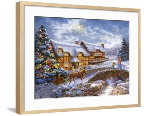 Country Cottages-Nicky Boehme-Framed Art Print